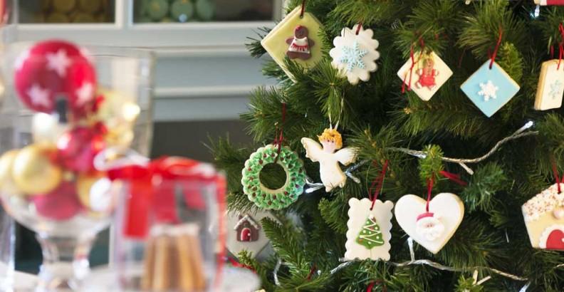 Albero Di Natale Con Biscotti.Albero Di Natale Con Biscotti Decorati Decora