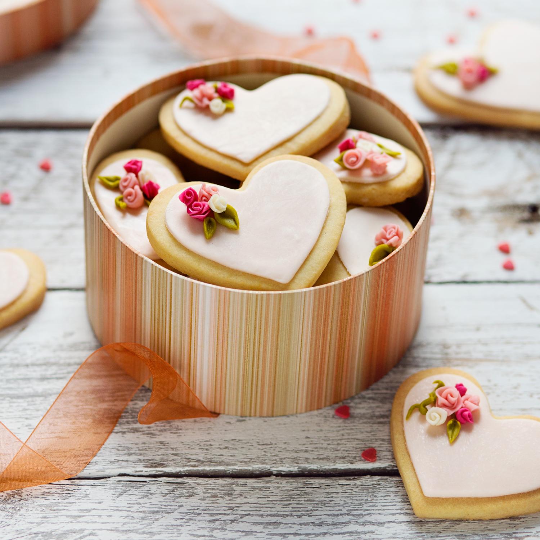 Biscotti Decorati Cuore