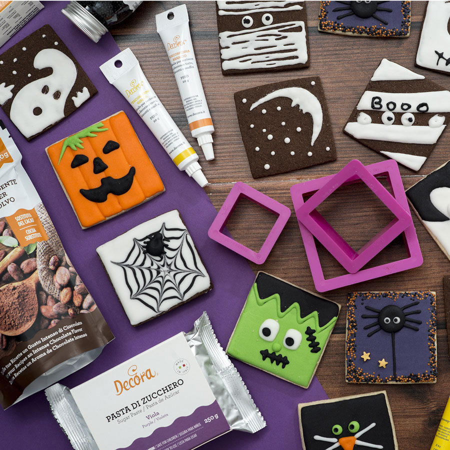 Biscotti di Halloween al Cacao