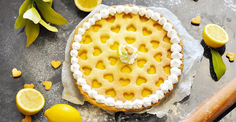 Crostata con Lemon Curd e Meringa
