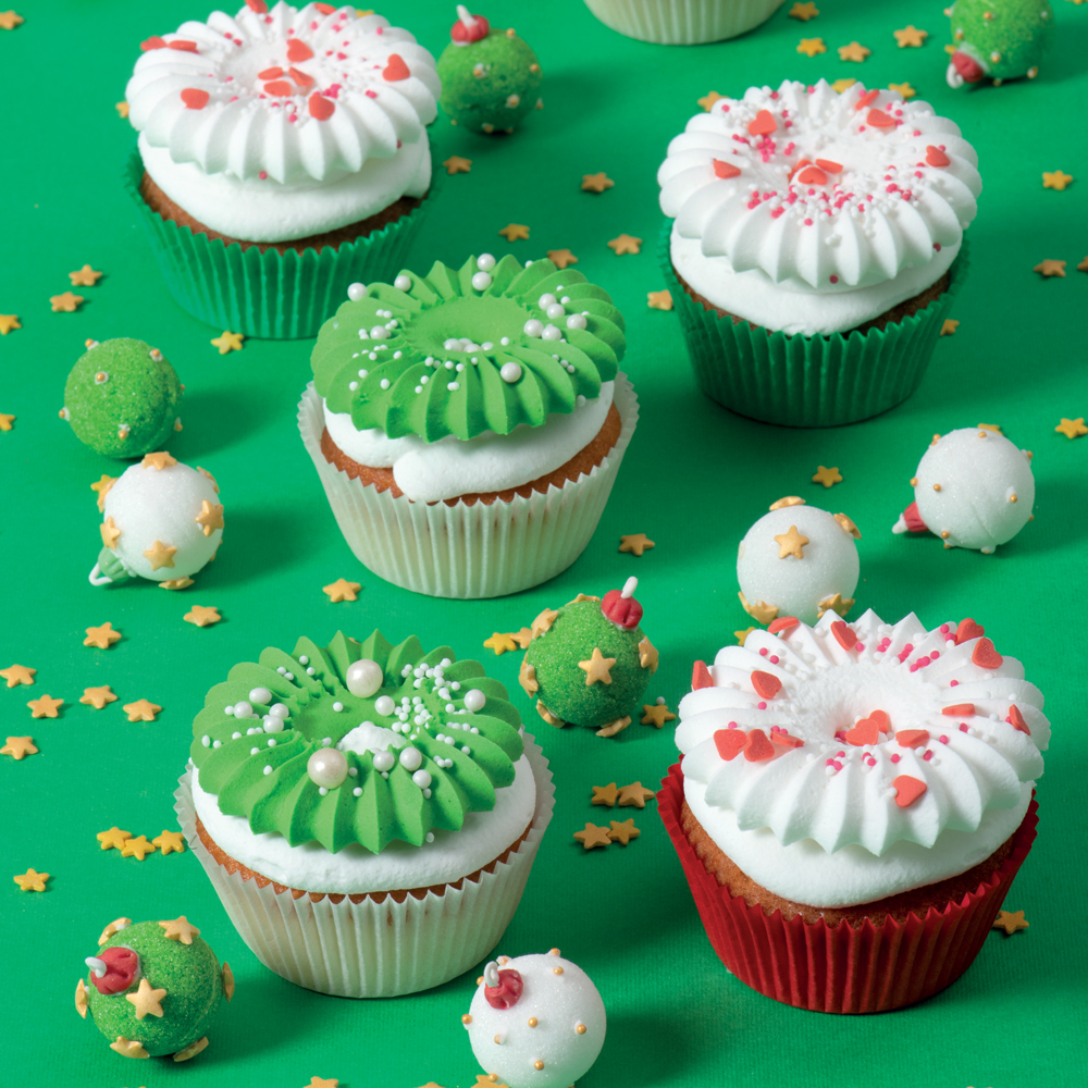 Cupcakes di Natale Sultane