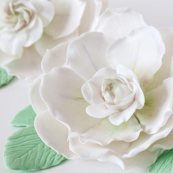 Gardenia in Pasta di Gomma