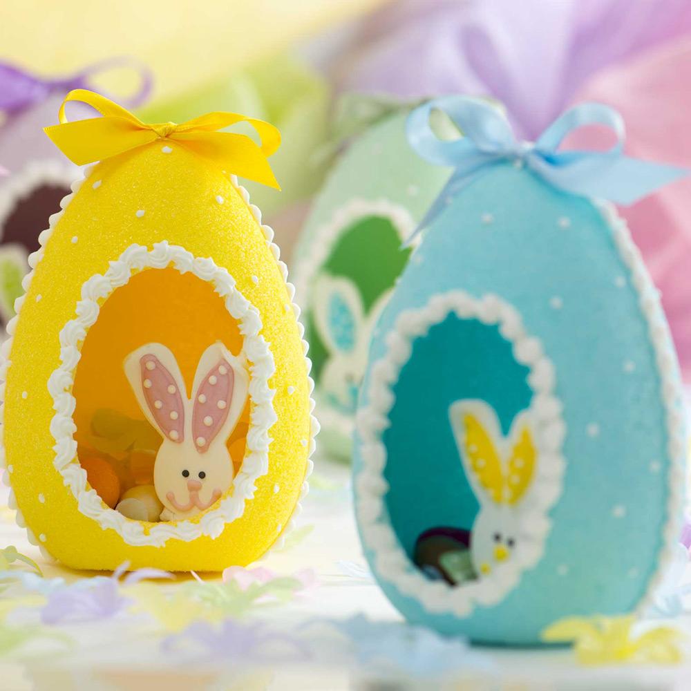 Uova di Zucchero Colorate