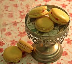 Macarons al Limoncello