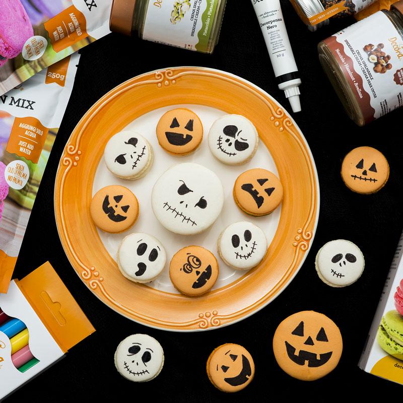 Macaron di Halloween