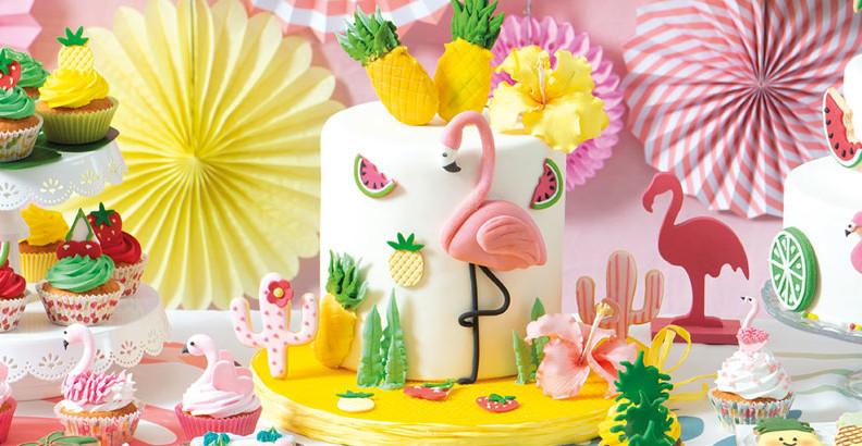 Torta Flamingo