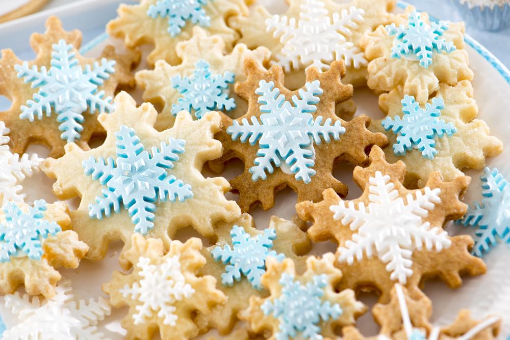 Biscotti Frozen Star