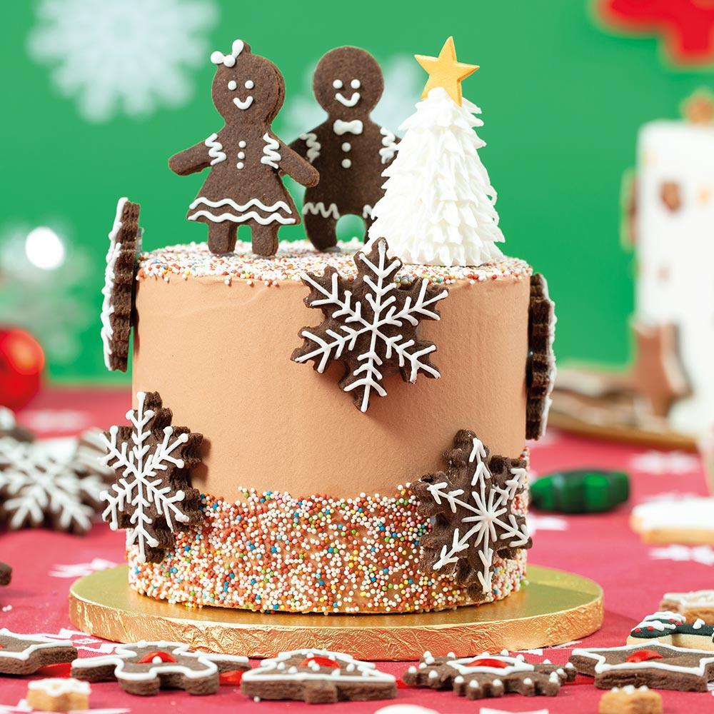 Torta Gingerbread al Cioccolato