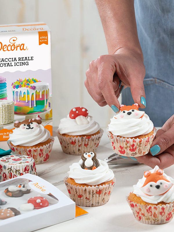 Cupcake Animali del Bosco