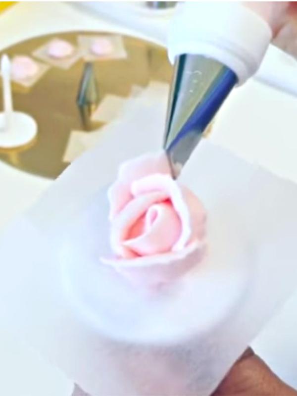 Rosa in Crema al Burro