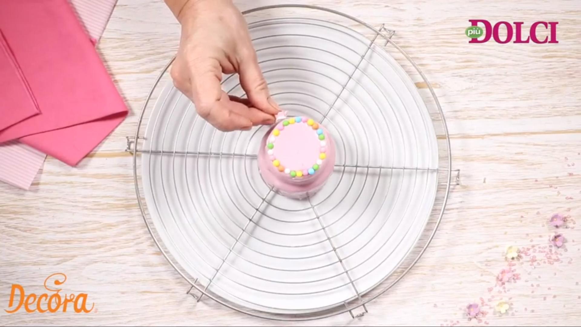 Tortine colorate con piùDolci