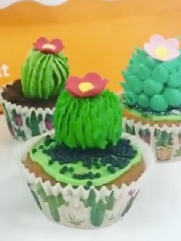 Come Realizzare i Cactus Cupcakes
