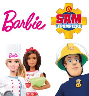 Barbie e Sam