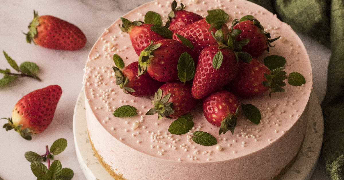 Torta Mousse alle Fragole
